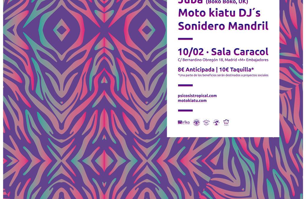 Carnaval Afro & Tropical Bass w/ Juba (Boko! Boko!, UK)