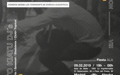 Moto Kiatu – Gqom – Session VIII @ La Ingobernable
