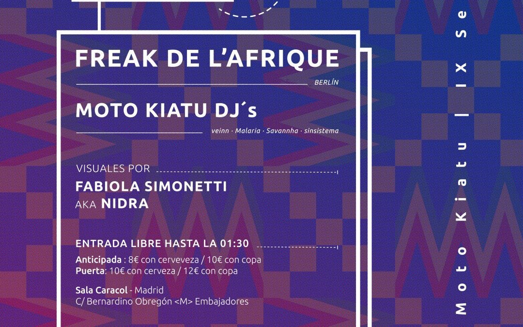 IX Session – Freak de L'Afrique (Berlín)